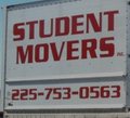 Student Movers, Baton Rouge