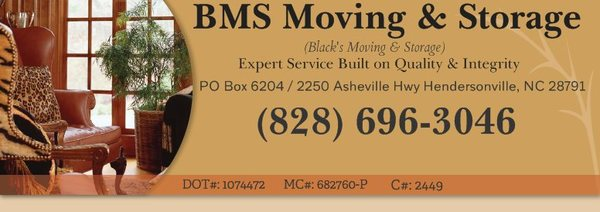 BMS Moving & Storage, Hendersonville
