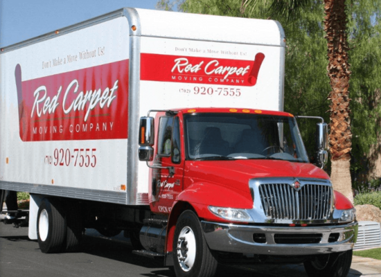 Red Carpet Moving Company, Las Vegas