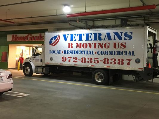 Veterans R Moving Us, Irving