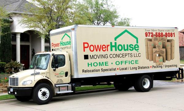 Powerhouse Moving Concepts, LLC, Plano
