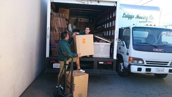 Luigys Moving Company - Marin County, Novato