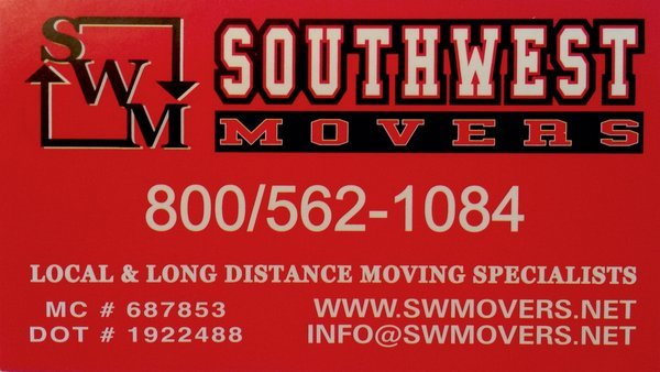 South West Movers - Delray, Delray