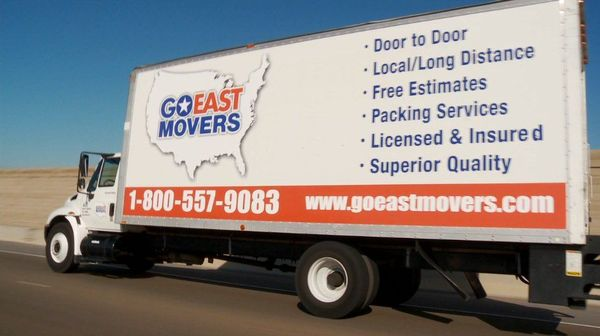 Go East Movers, Inc., Milpitas