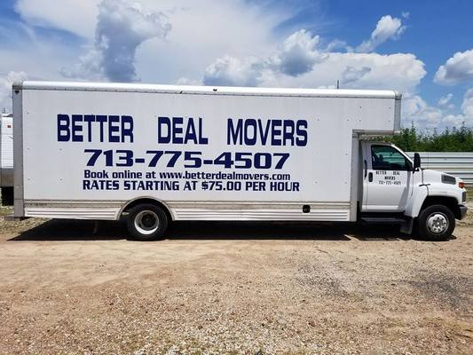 Better Deal Movers, Katy