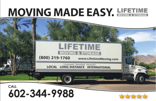 Lifetime Moving & Storage, LLC, Phoenix