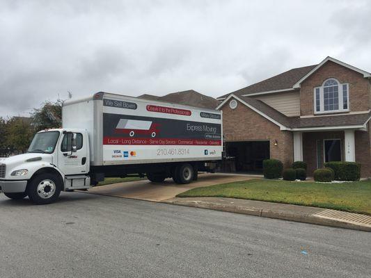 Express Moving of San Antonio, San Antonio