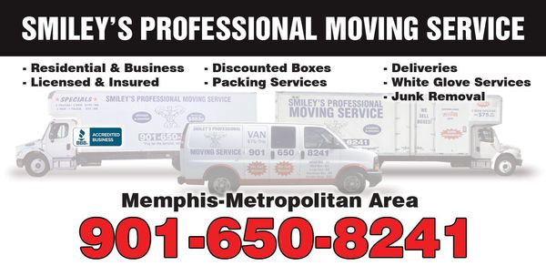 Smiley's Professional Moving Company, Memphis