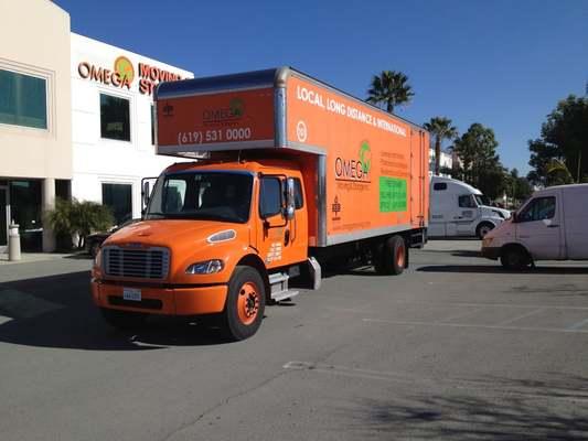 Omega Moving & Storage, Inc., San Diego