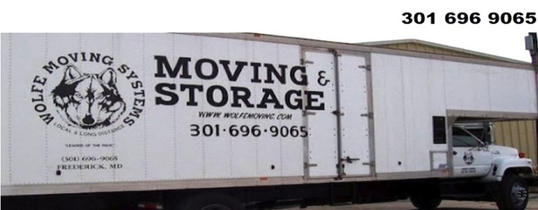 Wolfe's Moving Systems, Frederick