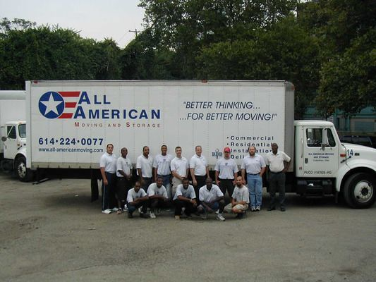All American Moving, Storage & Delivery, Columbus