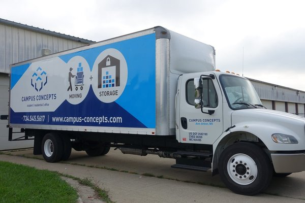 Campus Concepts: Moving & Storage, Ypsilanti