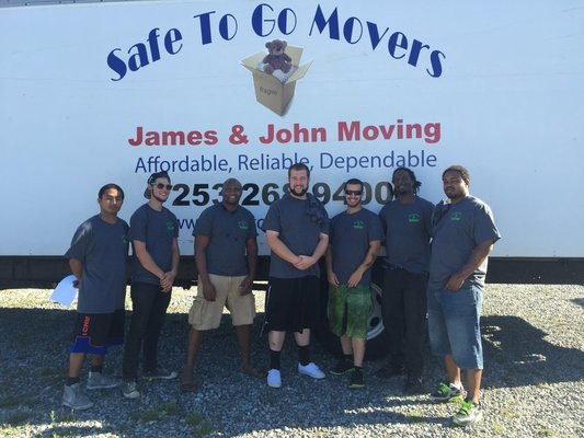 Safe to Go Movers LLC, Tacoma