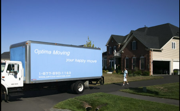 Optima Moving Company, Reisterstown