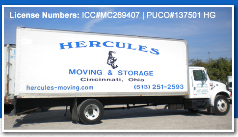 Hercules Moving & Storage Inc., Cincinnati