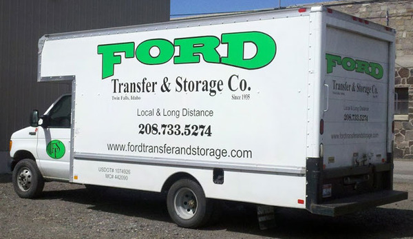 FORD Transfer & Storage, Twin Falls