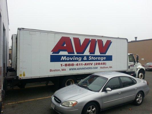 Incroyable Aviv Moving And Storage, Waltham