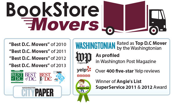 Bookstore Movers, Arlington