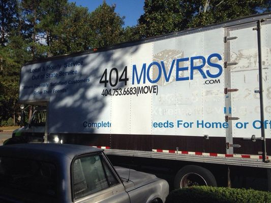404 Movers, Atlanta