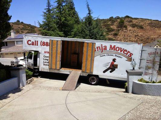 Ninja Movers, Santa Clara